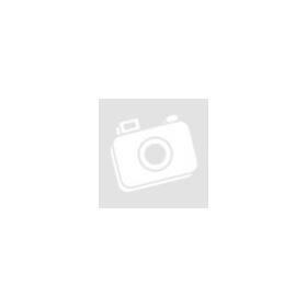 Exkluzív, kézzel vésett tungsten eljegyzési gyűrű kék cirkónia kristállyal díszítve EG-WT-V301